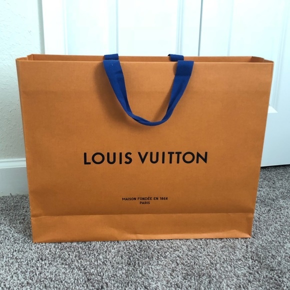 8058a06c6e9 Louis Vuitton Accessories   Lv Paper Bag From Neverfull Mm   Poshmark